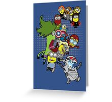 Minvengers Age of Mintron Greeting Card
