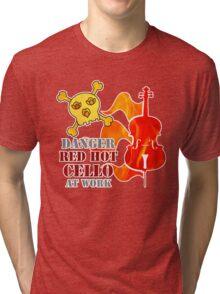Red Hot Cello Tri-blend T-Shirt