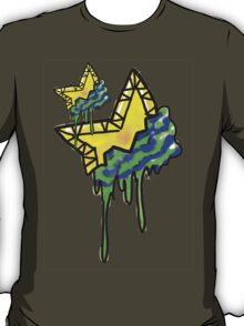 Loving The 80s-Bleeding Star T-Shirt