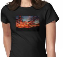 Tennessee Sunrise  Womens Fitted T-Shirt