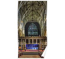 York Minster Quire Poster