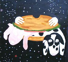 Bacon double hamburger by activtist