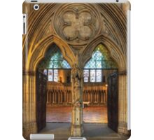 Chapter House Door iPad Case/Skin