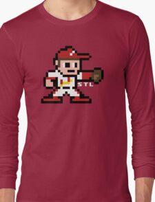 STL Pixel Guy Long Sleeve T-Shirt
