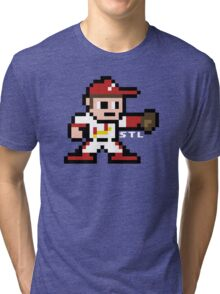 STL Pixel Guy Tri-blend T-Shirt