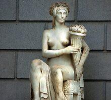 Statue of a Women by Buckwhite