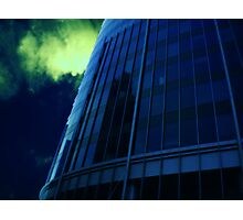 Cityscapes - Blue at Midnight Photographic Print