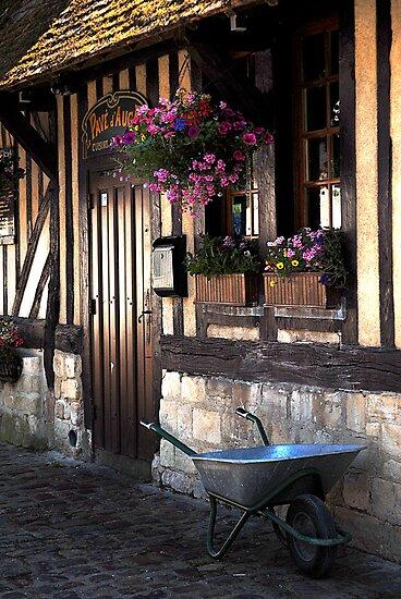 Beuvron en Auge doorway by triciamary