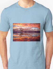 Rolling Thunder Sunset Unisex T-Shirt