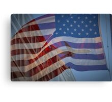 Tribute to 9/11 Canvas Print
