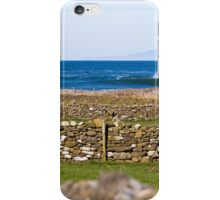 Stone walls and the barrels are clean iPhone Case/Skin