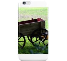 Wagon In The Orchard  iPhone Case/Skin