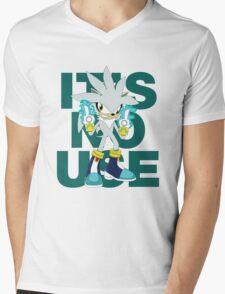 """""""It's No Use!"""" (Ruder Version) Mens V-Neck T-Shirt"""