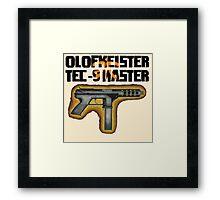 Tec-9 Master Framed Print