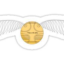 The Golden Snitch Sticker