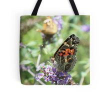 Pretty Painted Lady Tote Bag