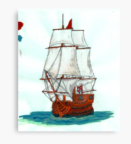 Tall ship Canvas Print
