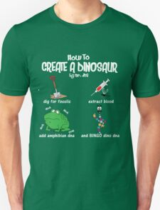 Guide to a Dinosaur T-Shirt