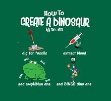 Guide to a Dinosaur Unisex T-Shirt