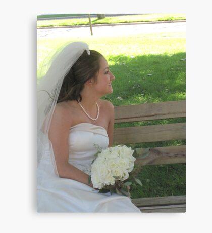 Bride II Canvas Print