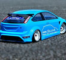 Modified Blue Ford Fiesta by Vicki Spindler (VHS Photography)