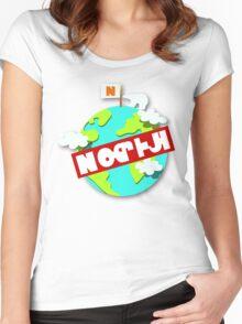Splatfest Team North Pole v.4 Women's Fitted Scoop T-Shirt