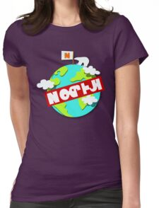 Splatfest Team North Pole v.4 Womens Fitted T-Shirt