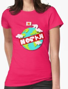 Splatfest Team North Pole v.4 Womens Fitted T-Shirt