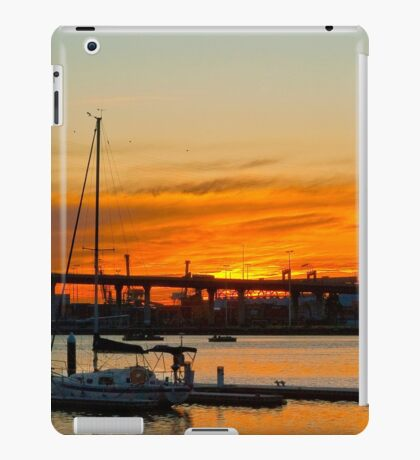 0946 End of day iPad Case/Skin