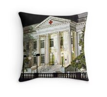 American Red Cross National Headquarters Throw Pillow