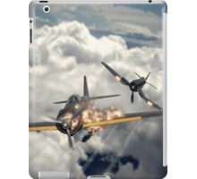 Watch your six! iPad Case/Skin