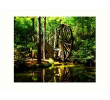 Berry's Mill Art Print