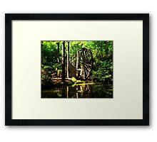 Berry's Mill Framed Print