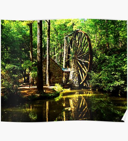 Berry's Mill Poster