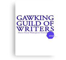 Gawking Guild of Writers - MISF Canvas Print