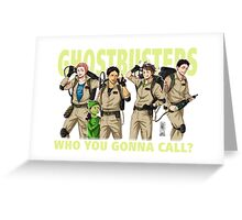 Seijo ghostbusters Greeting Card