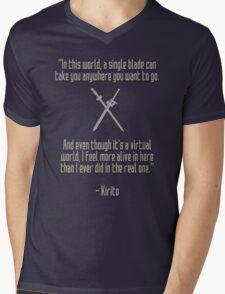 Sword Art Online - More Alive Mens V-Neck T-Shirt
