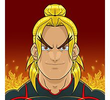 Ken Masters (Street Fighter V) Photographic Print