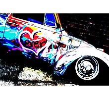 Instead of Scrapyard Heaven ~ 'Time' ~ pop style Photographic Print