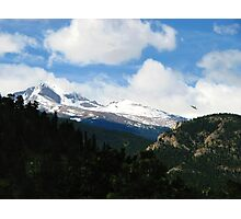 By The Hawk's Eyes, Colorado Rocky Mountains Photographic Print