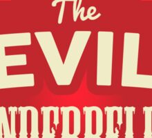 The Devil's Underbelly Sticker