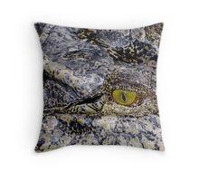 Ancient Gaze Throw Pillow