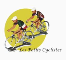 Les petits cyclistes by Peter Hancock