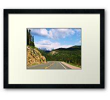 Crusing Colorado Framed Print