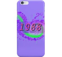 Vaporwave-1988 iPhone Case/Skin
