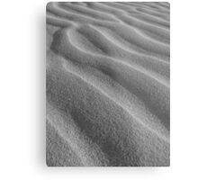 silver sand Metal Print
