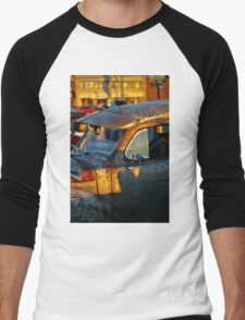 Old Plymouth Car Visor Men's Baseball ¾ T-Shirt