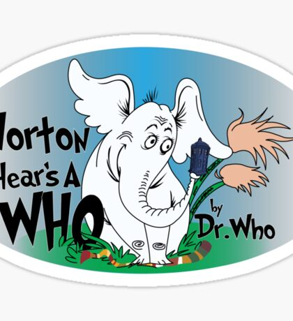 Horton Hears a Who Sticker