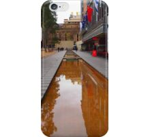 City Square on a wet day Melbourne VIC Australia iPhone Case/Skin