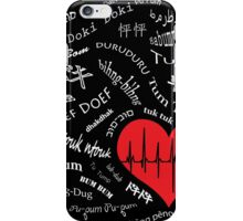 Heartbeats of the World iPhone Case/Skin
